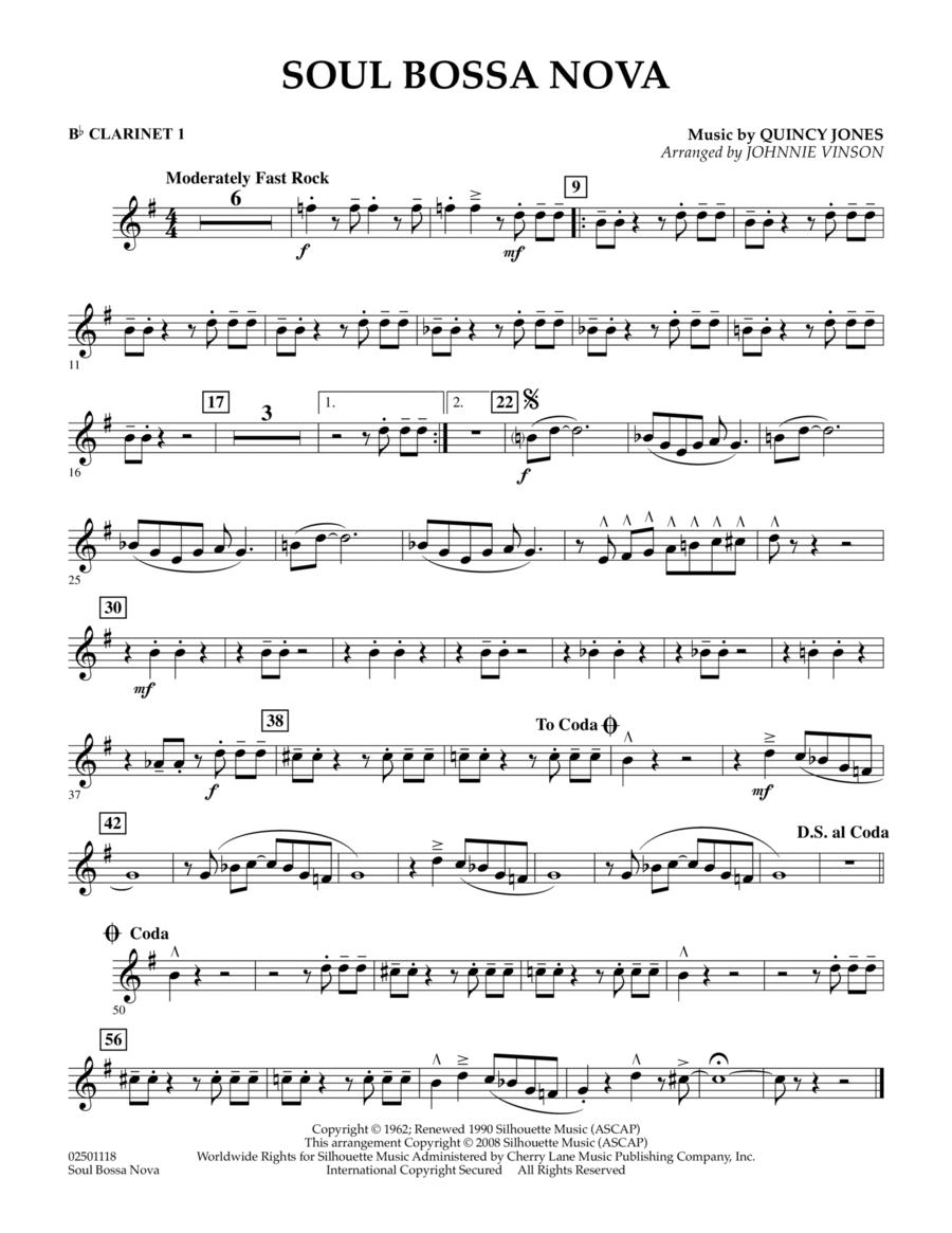 Soul Bossa Nova - Bb Clarinet 1