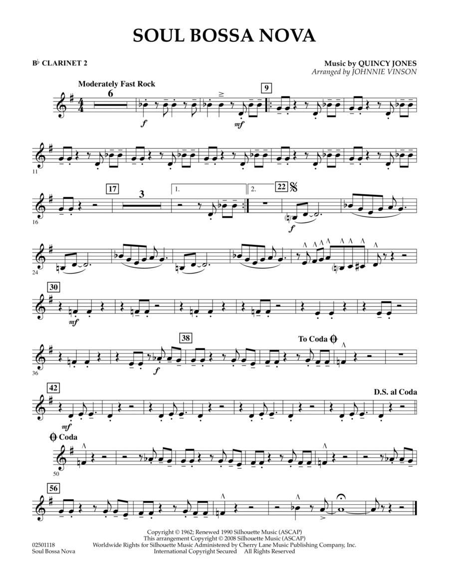 Soul Bossa Nova - Bb Clarinet 2