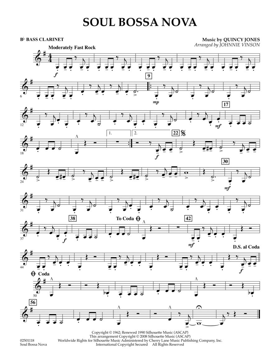 Soul Bossa Nova - Bb Bass Clarinet