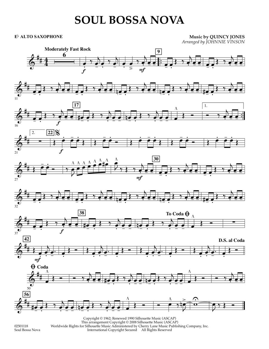 Soul Bossa Nova - Eb Alto Saxophone