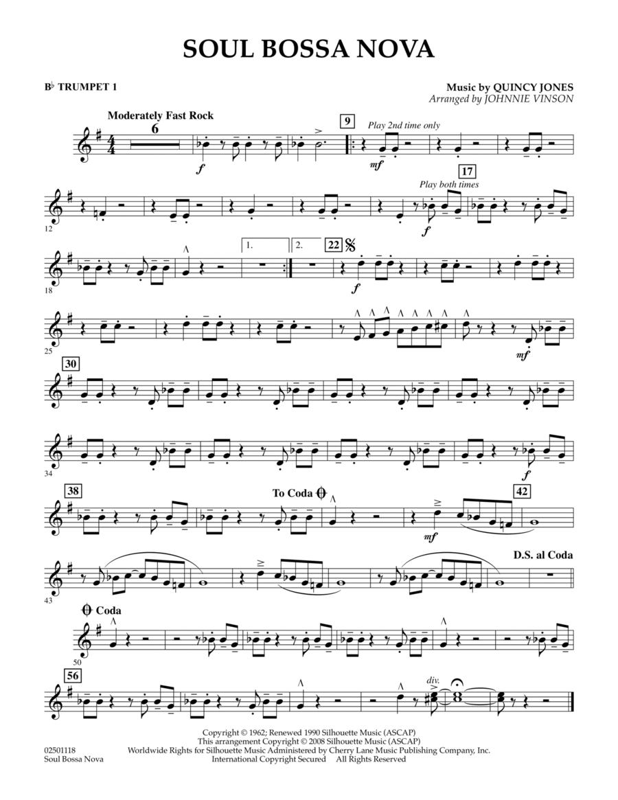 Soul Bossa Nova - Bb Trumpet 1