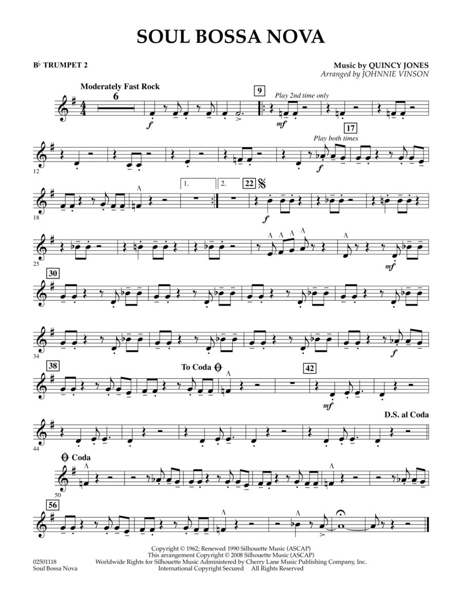 Soul Bossa Nova - Bb Trumpet 2