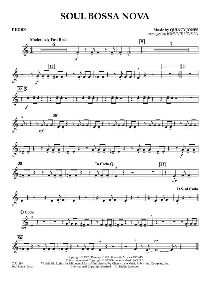 Soul Bossa Nova - F Horn