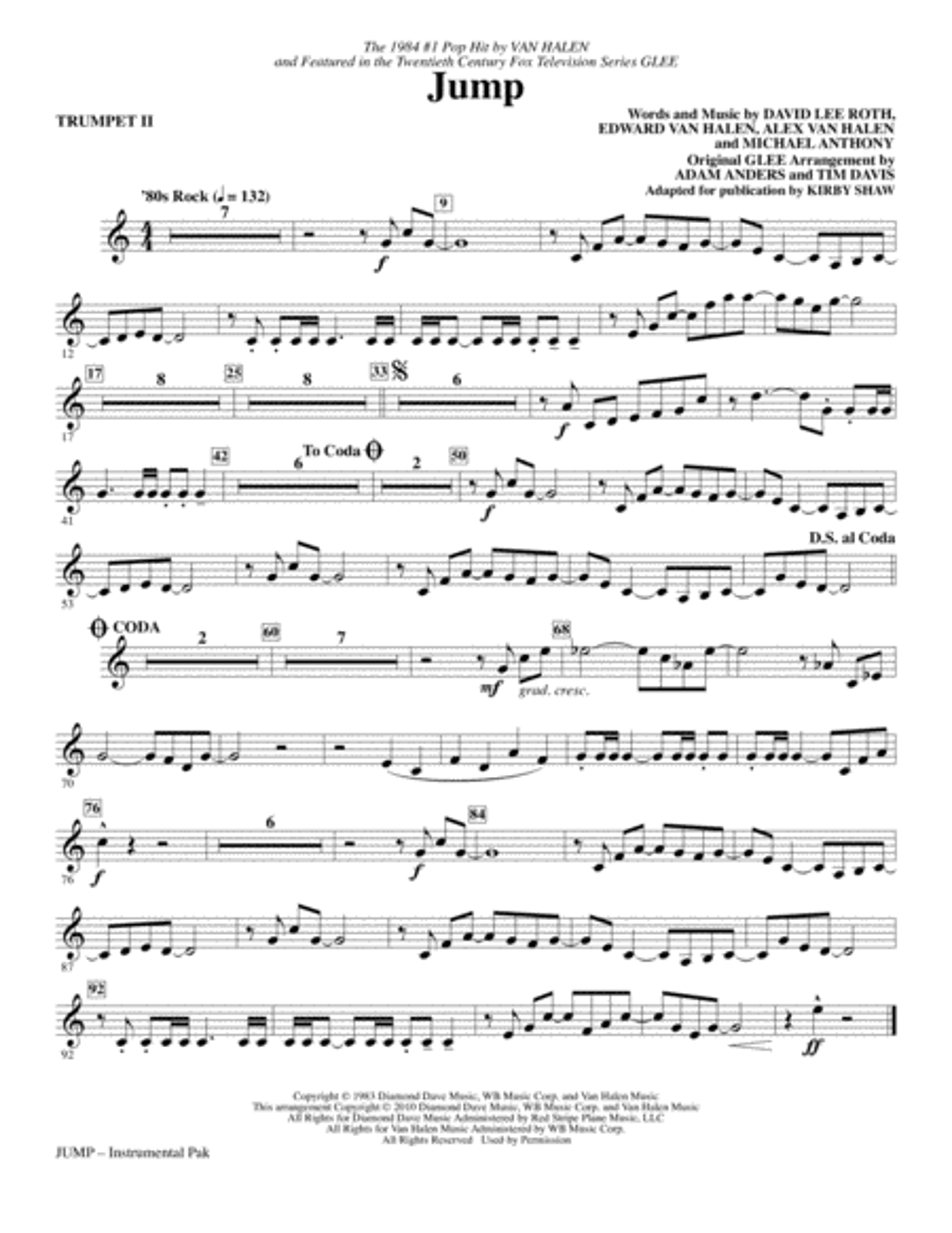 Jump - Trumpet 2