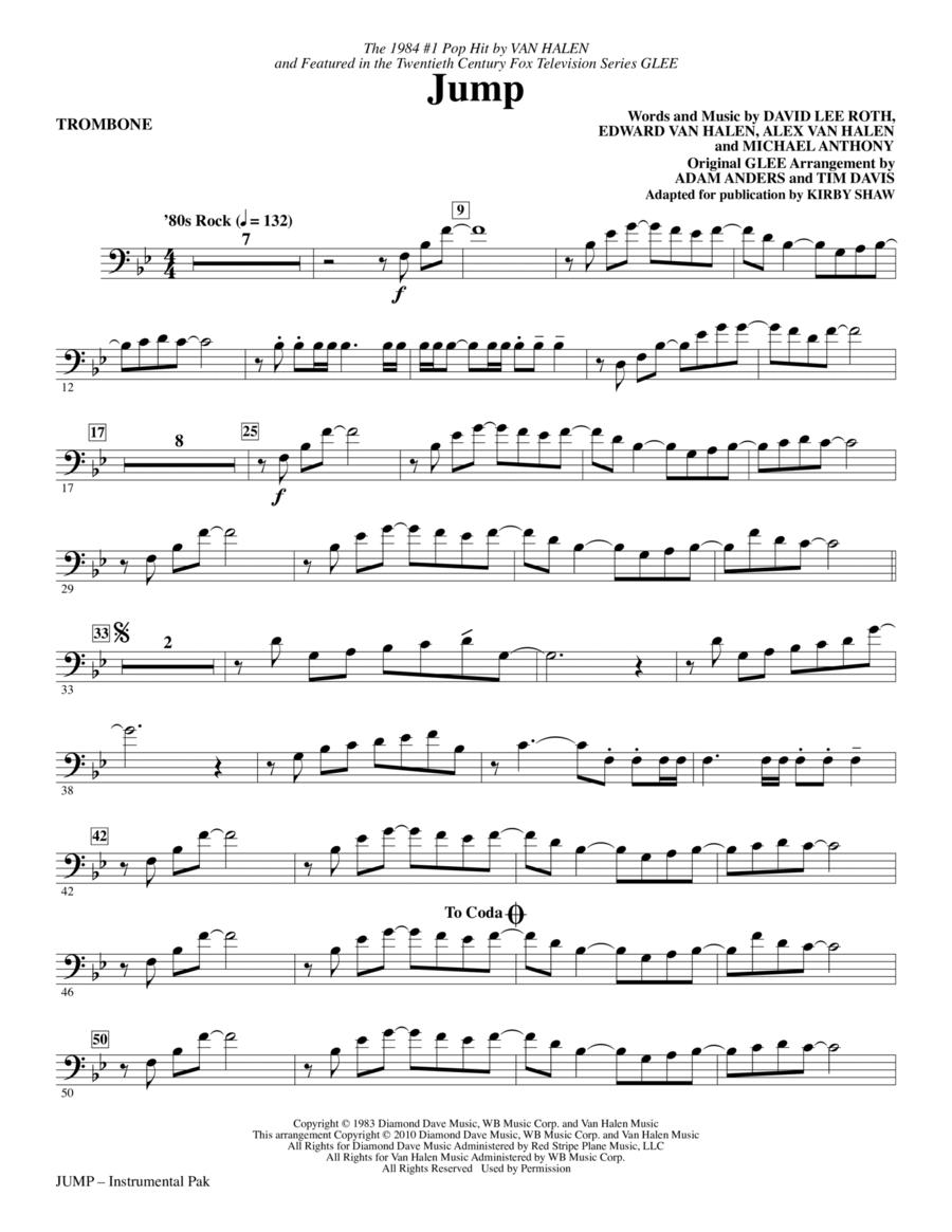 Jump - Trombone