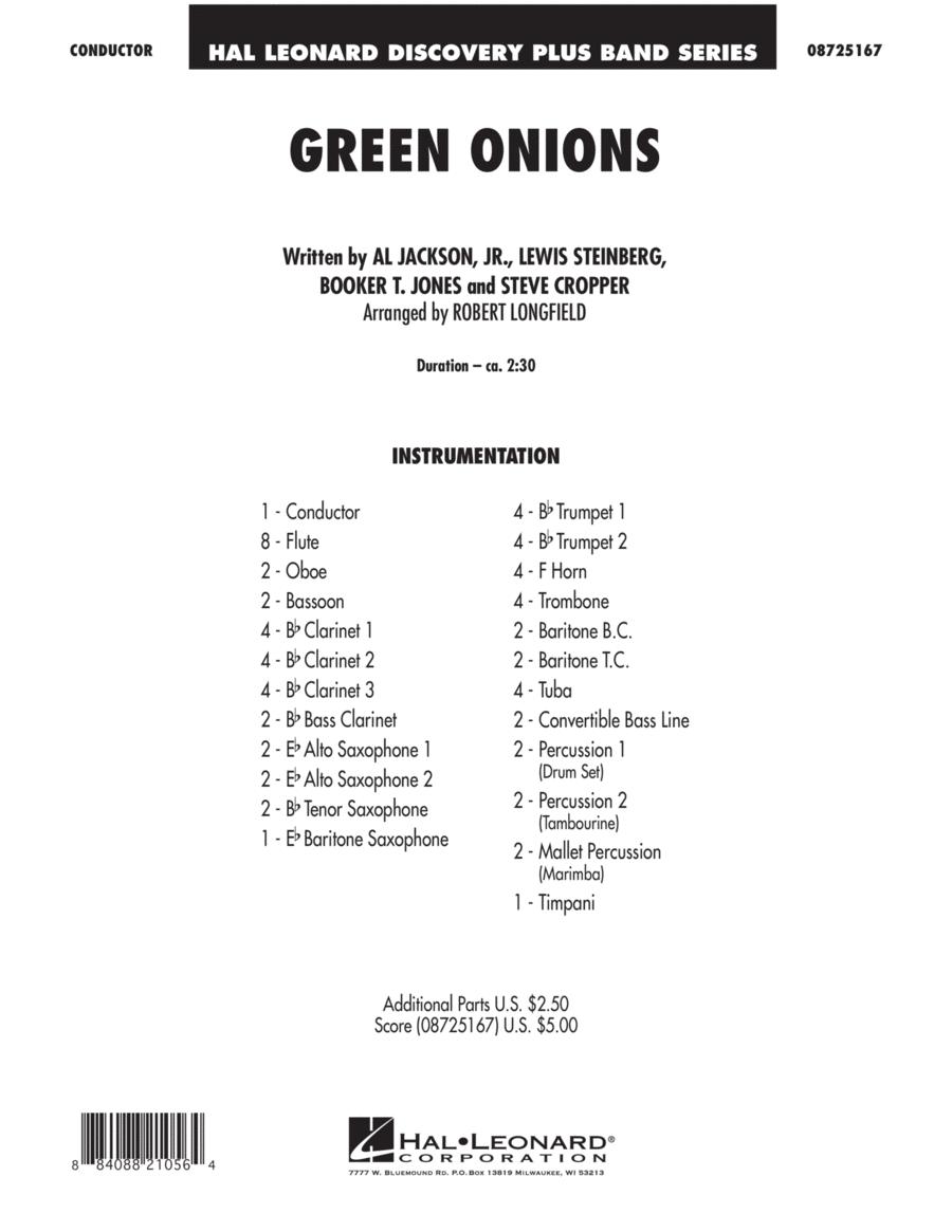 Green Onions - Full Score