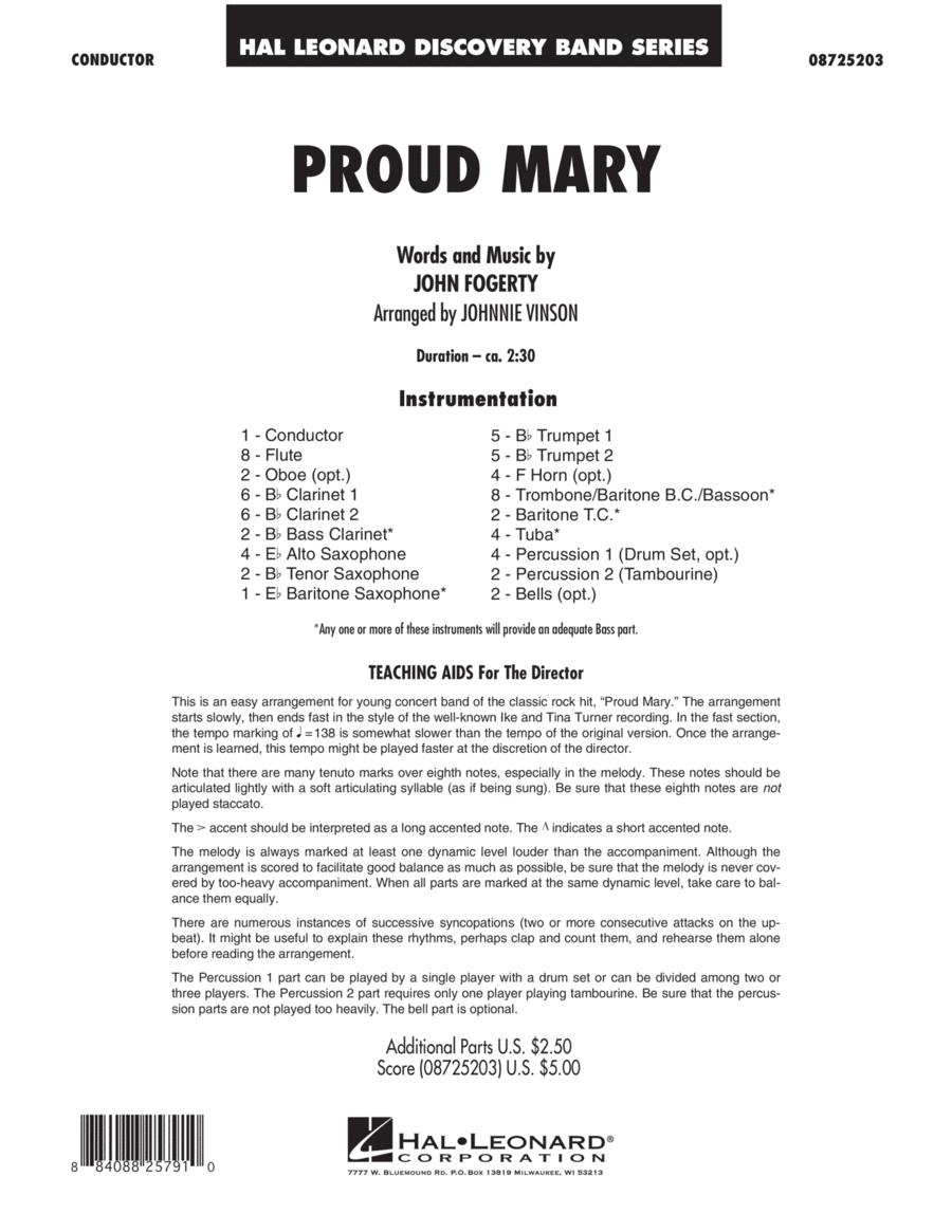Proud Mary - Full Score