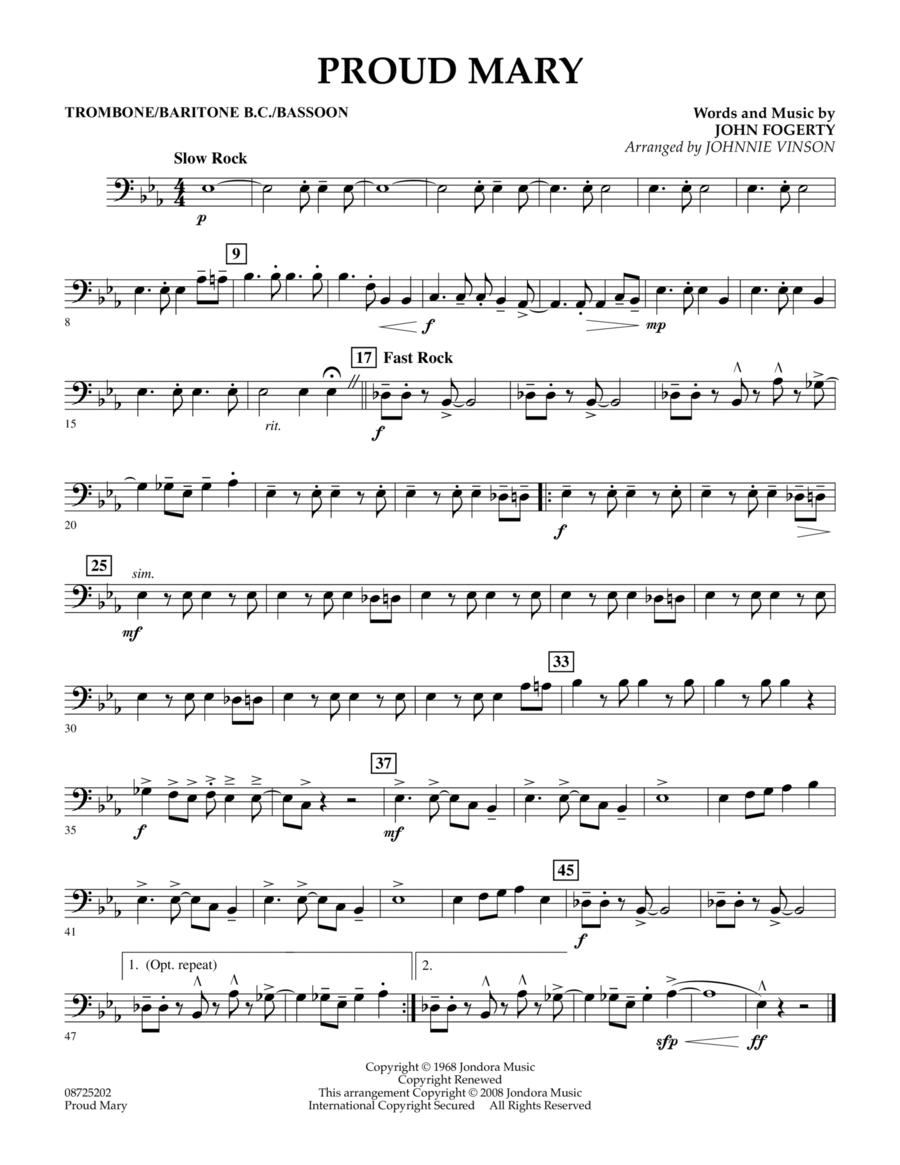Proud Mary - Trombone/Baritone B.C./Bassoon
