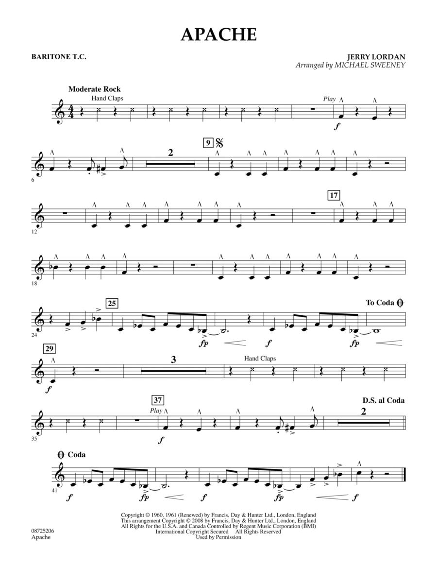 Apache (Percussion Section Feature) - Baritone T.C.