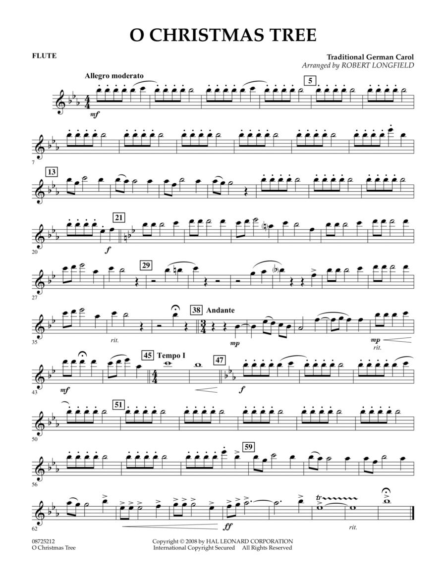 O Christmas Tree - Flute