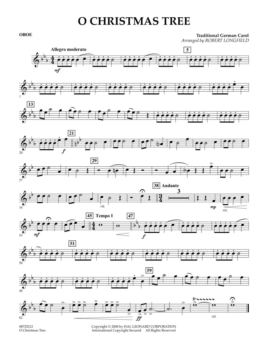 O Christmas Tree - Oboe