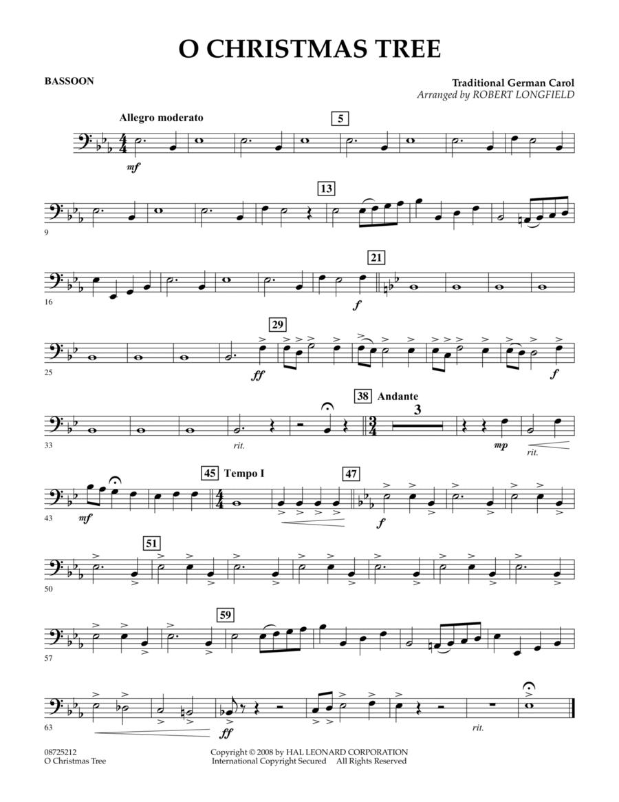 O Christmas Tree - Bassoon