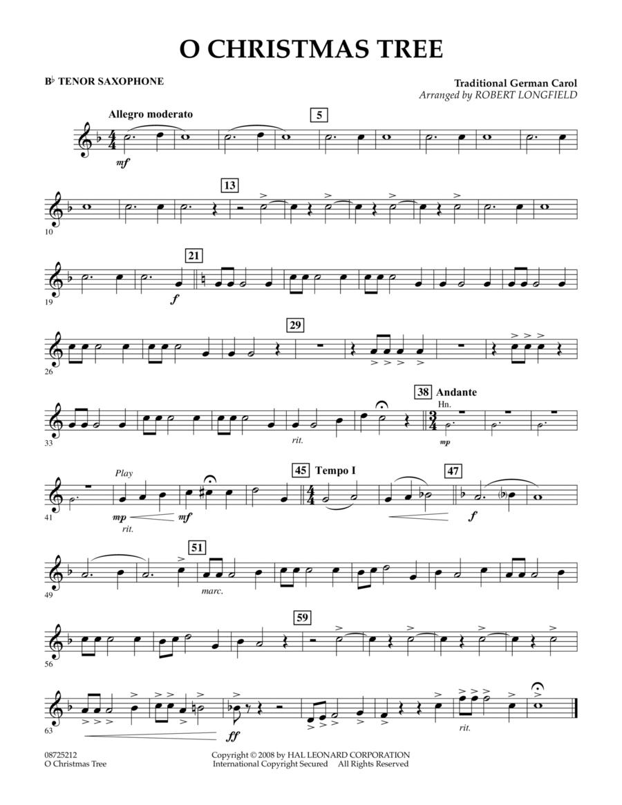 O Christmas Tree - Bb Tenor Saxophone