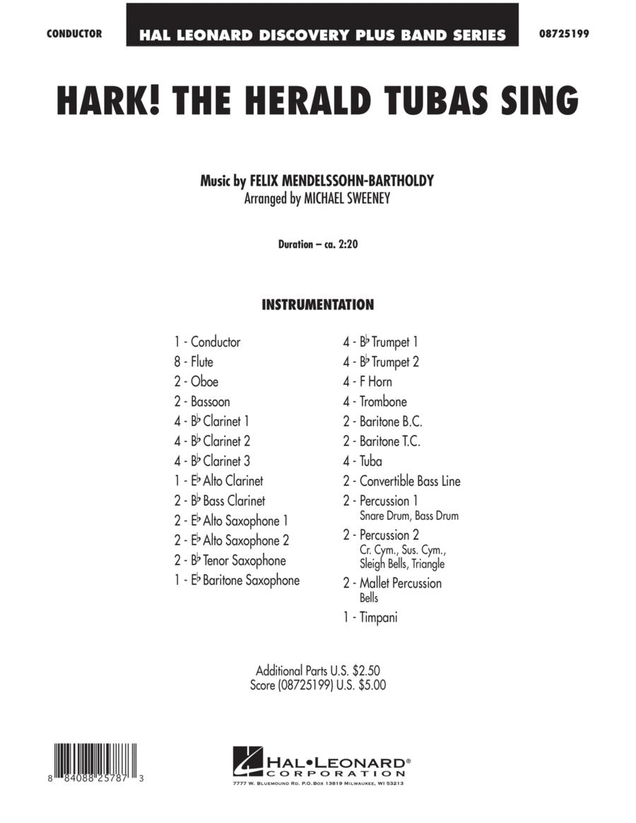 Hark! The Herald Tubas Sing - Full Score