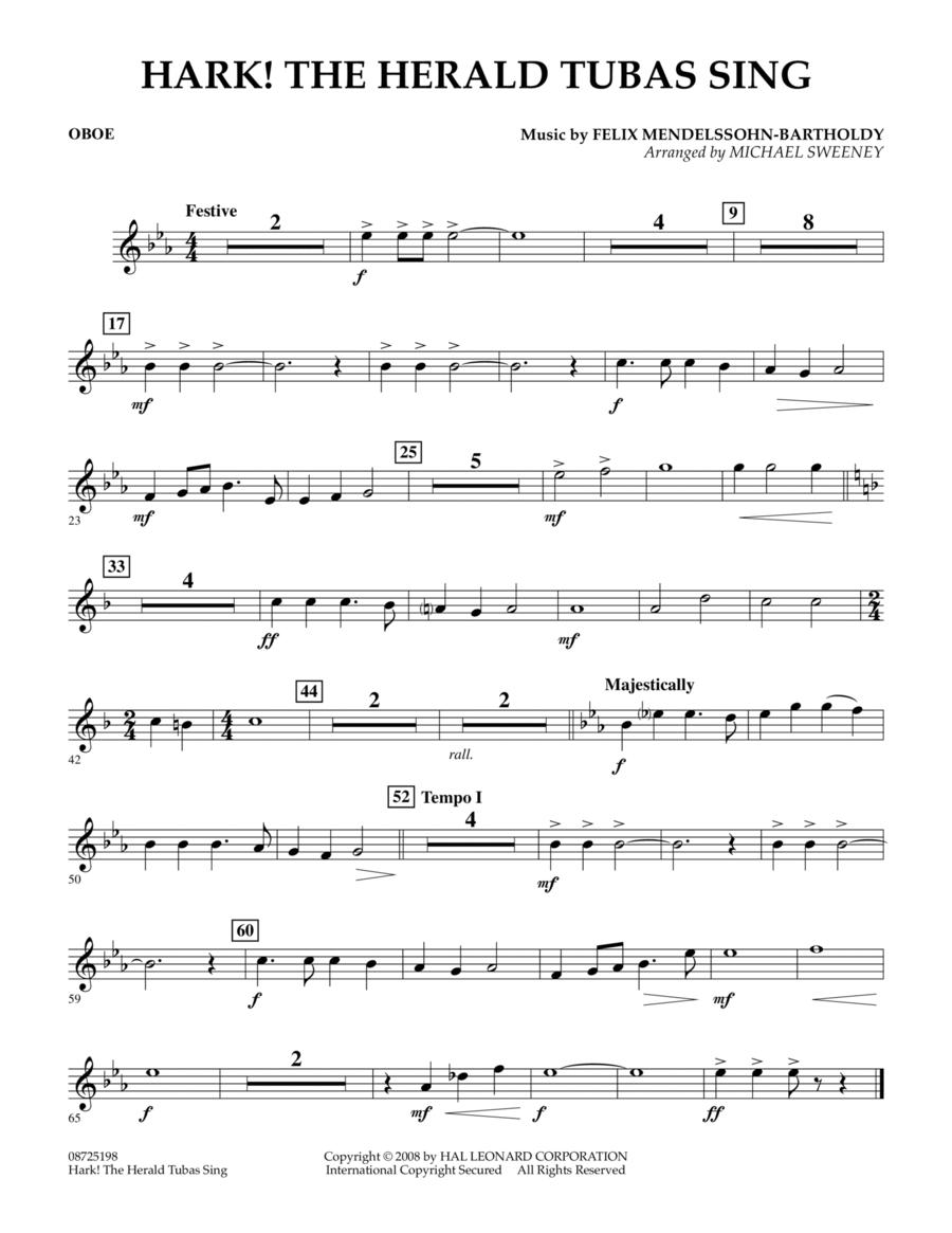 Hark! The Herald Tubas Sing - Oboe
