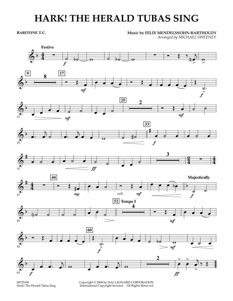 Hark! The Herald Tubas Sing - Baritone T.C.