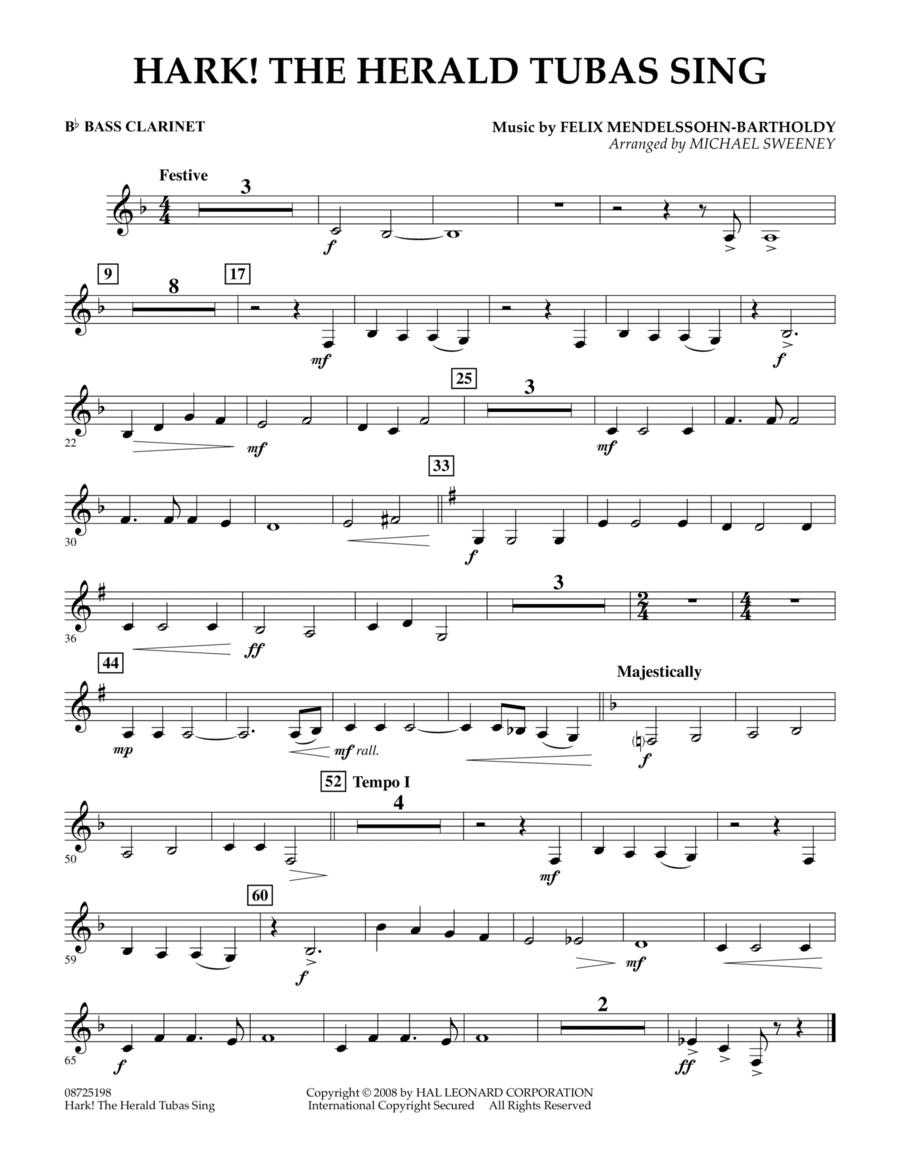 Hark! The Herald Tubas Sing - Bb Bass Clarinet