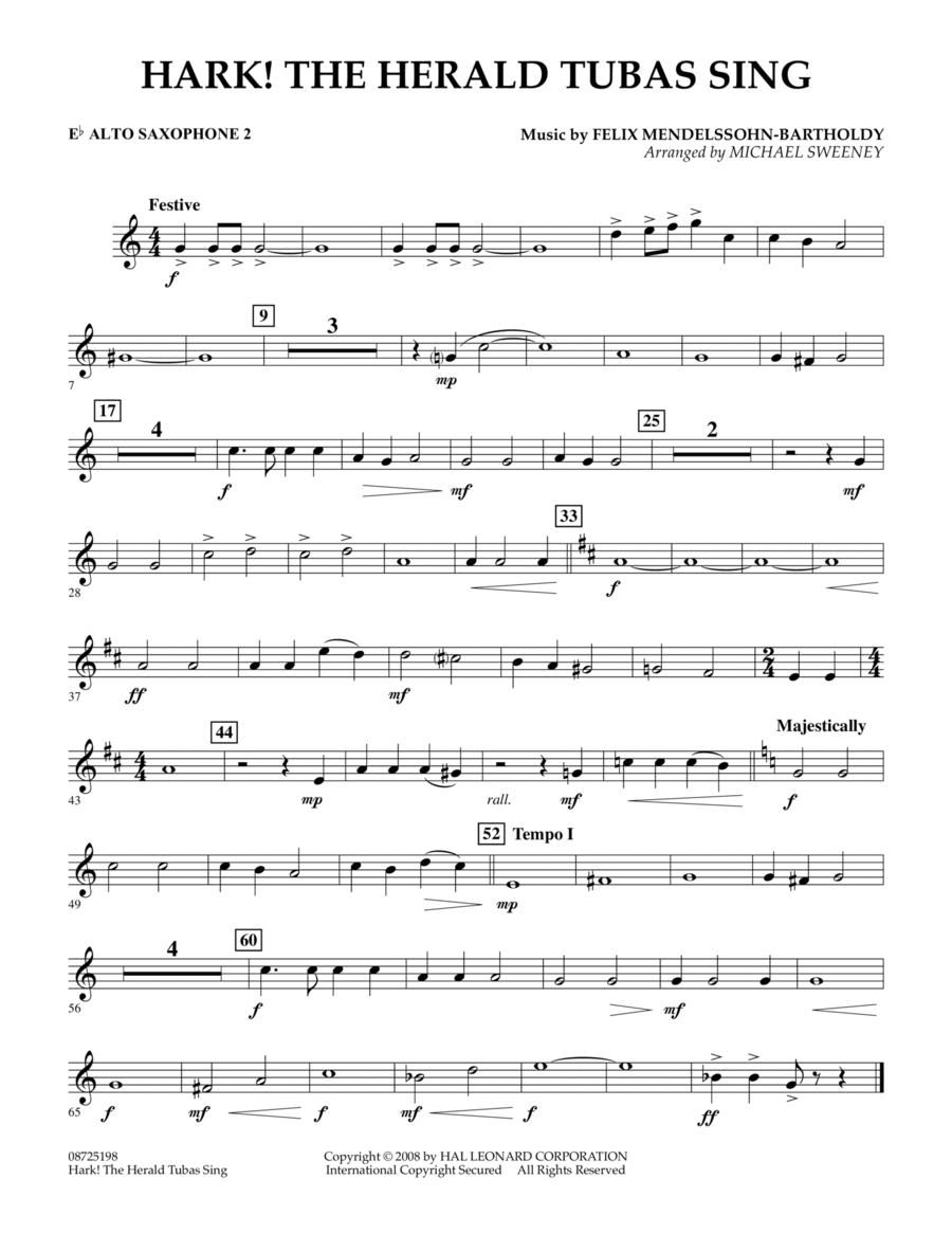 Hark! The Herald Tubas Sing - Eb Alto Saxophone 2