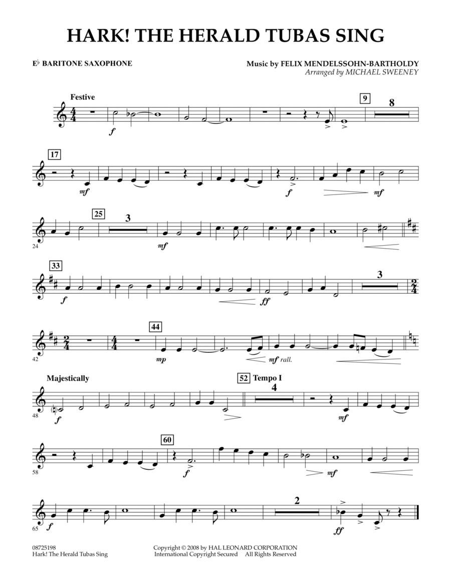 Hark! The Herald Tubas Sing - Eb Baritone Saxophone