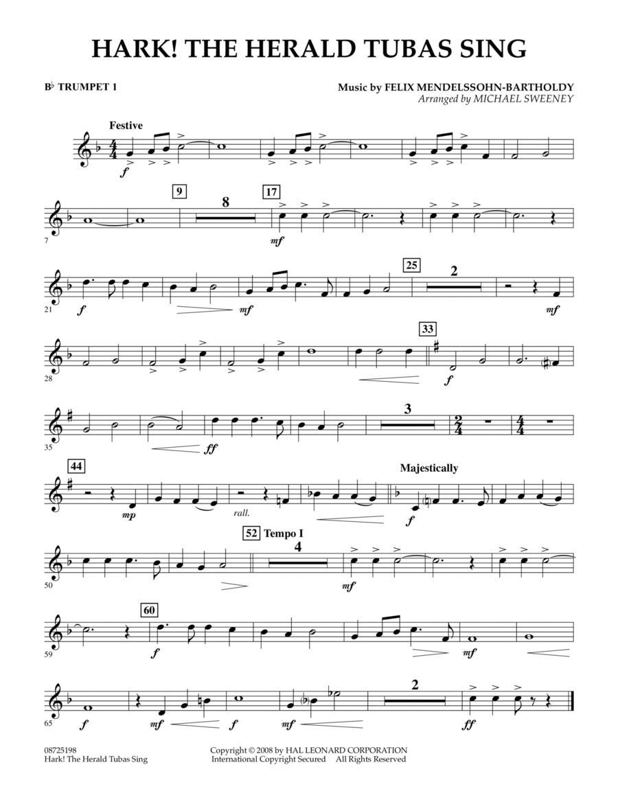 Hark! The Herald Tubas Sing - Bb Trumpet 1