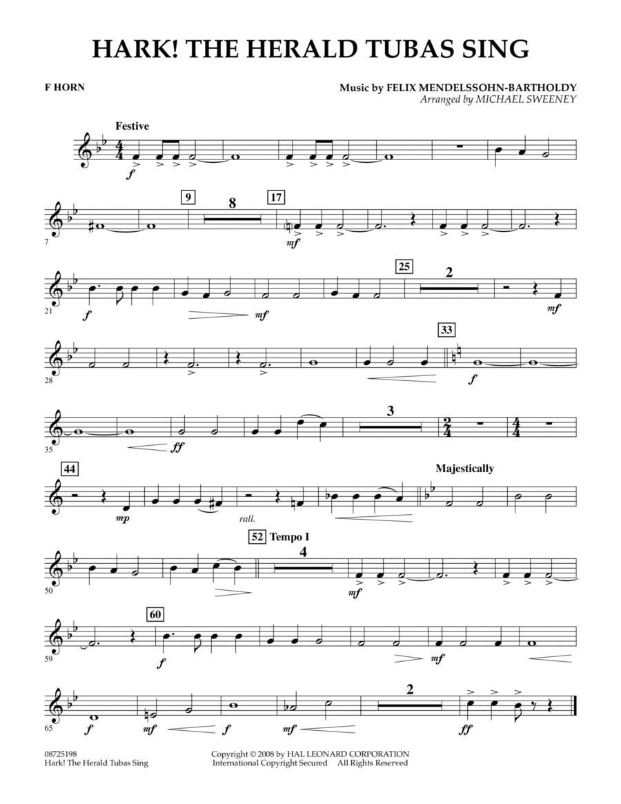 Hark! The Herald Tubas Sing - F Horn