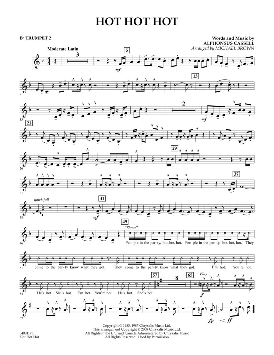 Hot Hot Hot - Bb Trumpet 2