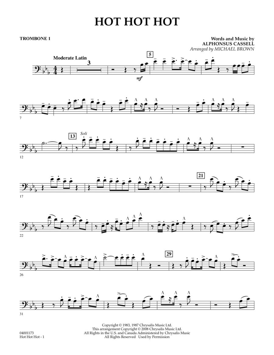 Hot Hot Hot - Trombone 1
