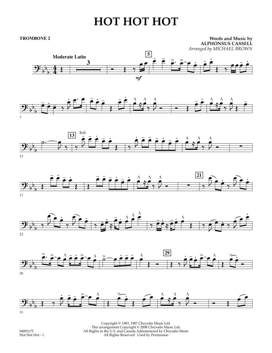 Hot Hot Hot - Trombone 2