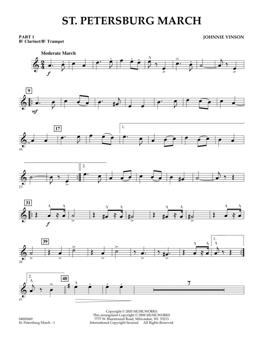 St. Petersburg March - Pt.1 - Bb Clarinet/Bb Trumpet