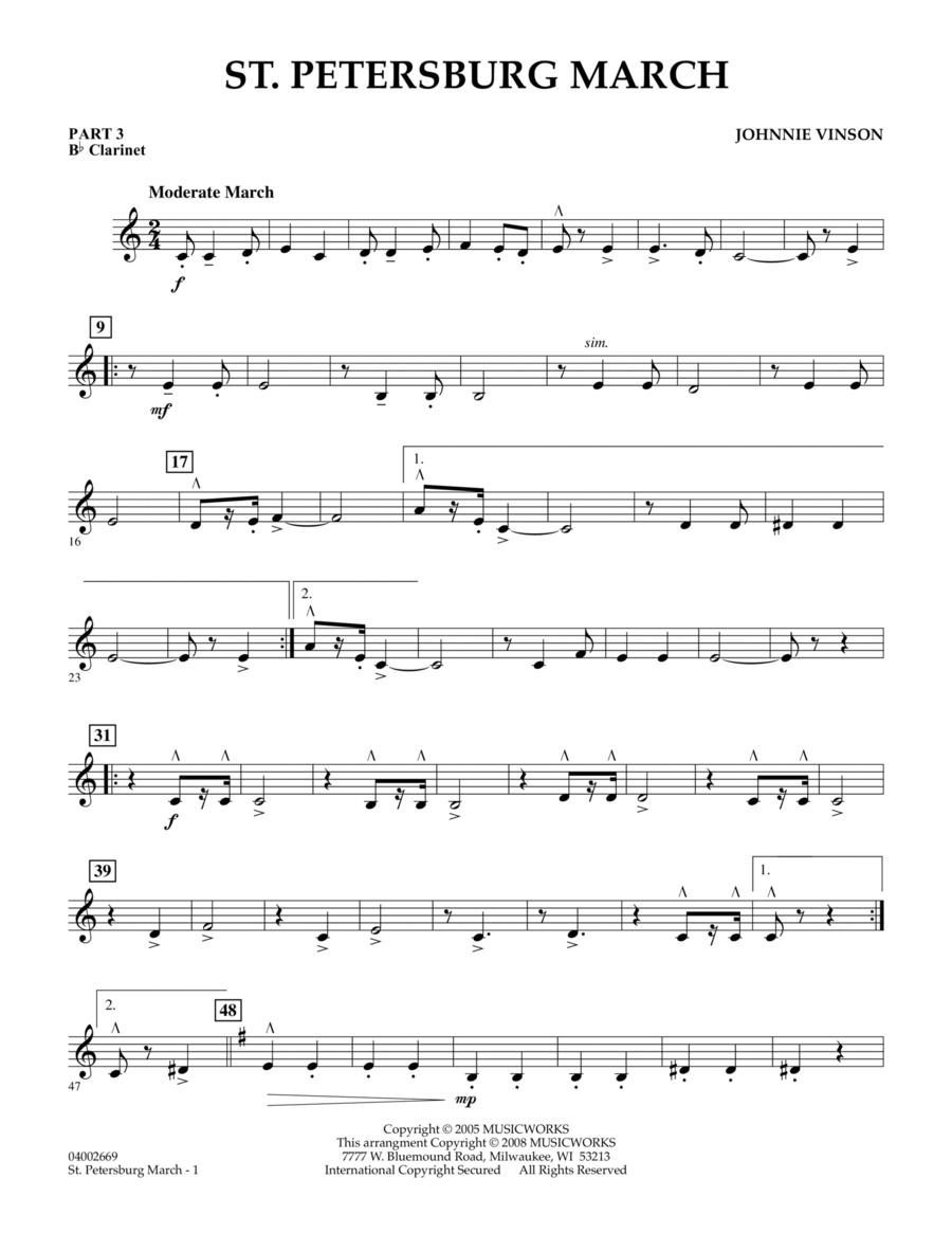 St. Petersburg March - Pt.3 - Bb Clarinet
