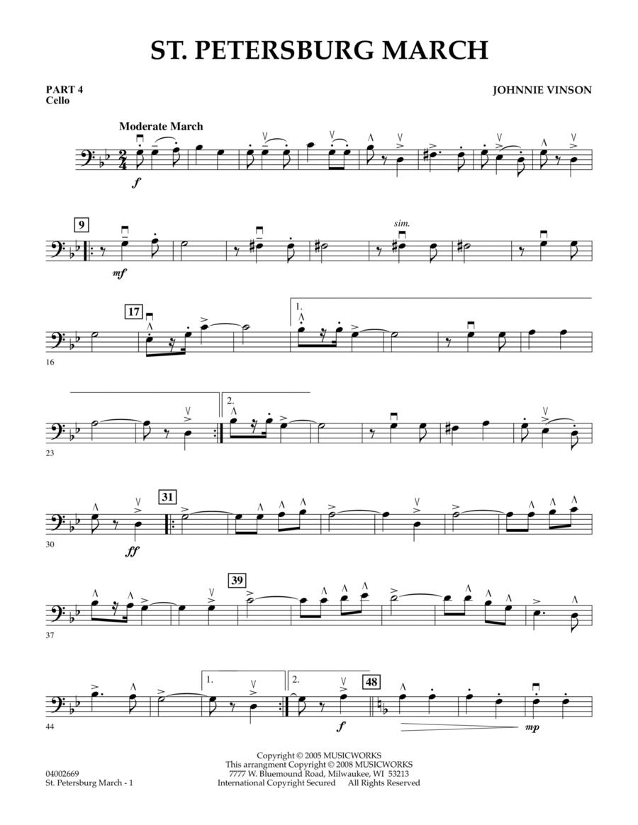 St. Petersburg March - Pt.4 - Cello