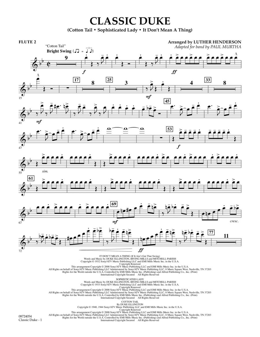 Classic Duke - Flute 2