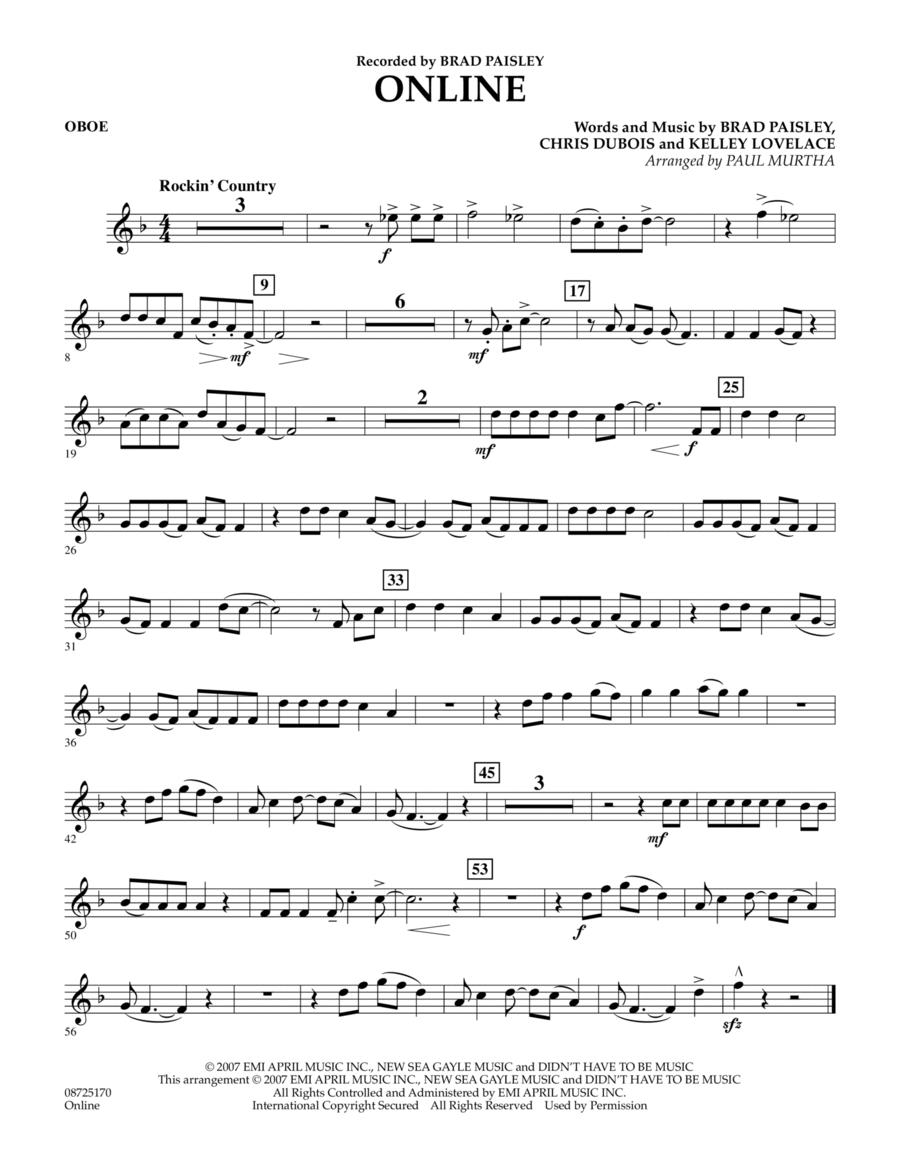 Online - Oboe