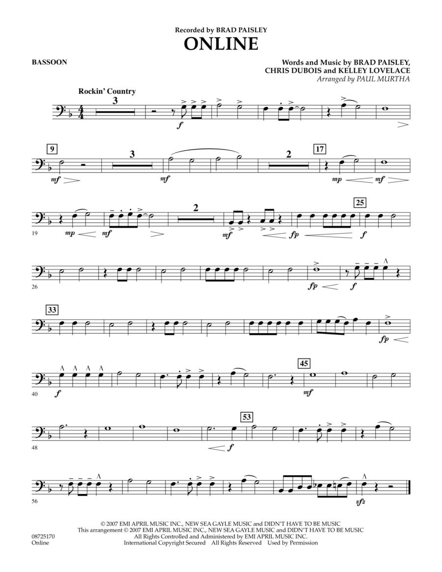 Online - Bassoon