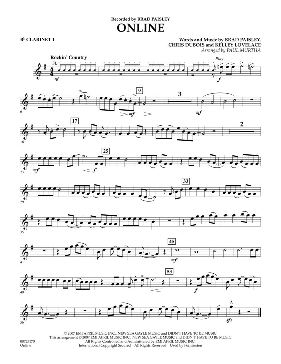 Online - Bb Clarinet 1
