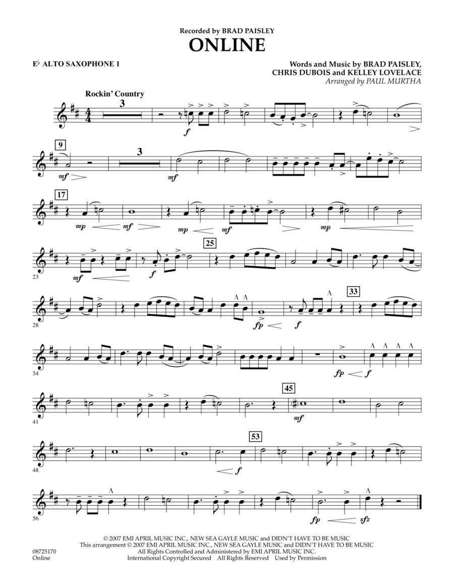Online - Eb Alto Saxophone 1