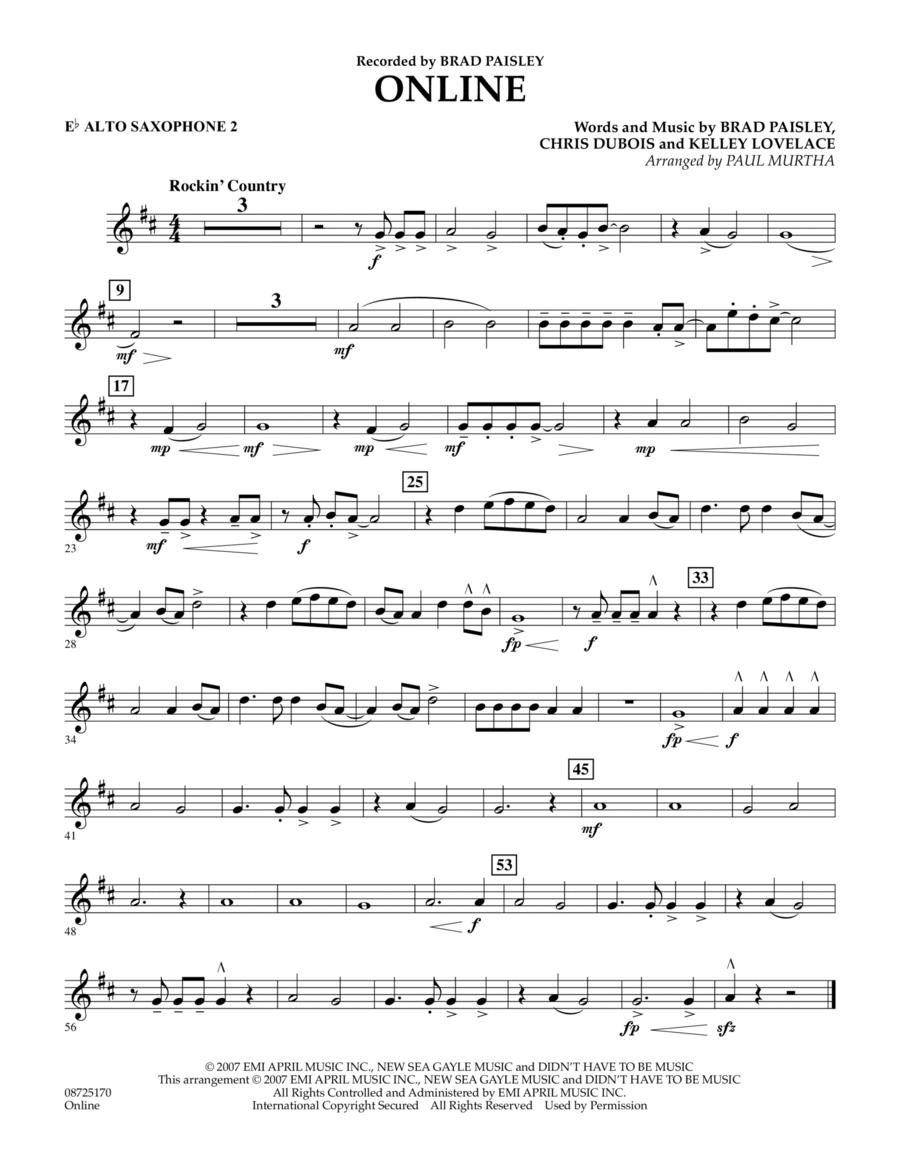 Online - Eb Alto Saxophone 2