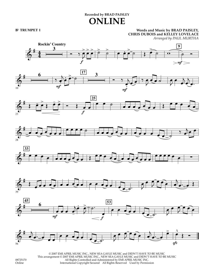 Online - Bb Trumpet 1