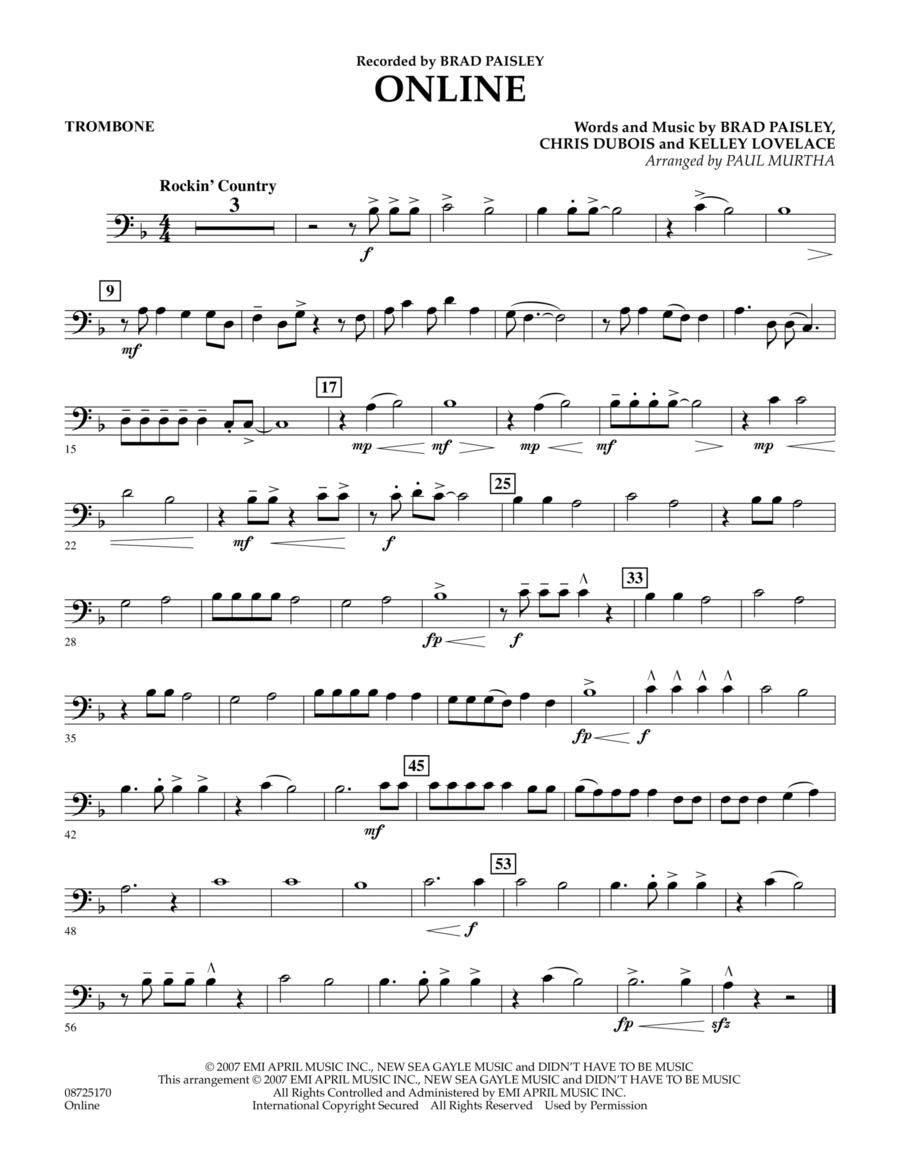 Online - Trombone