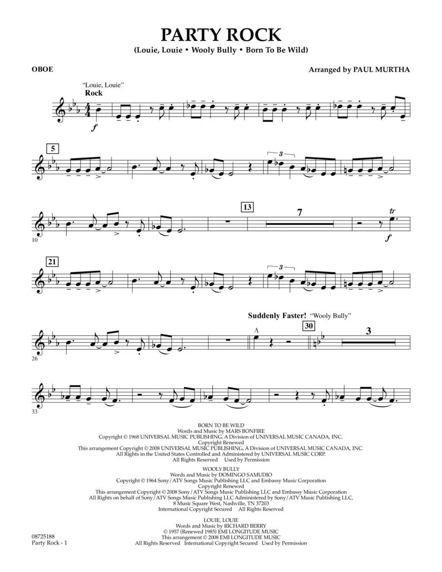 Party Rock - Oboe