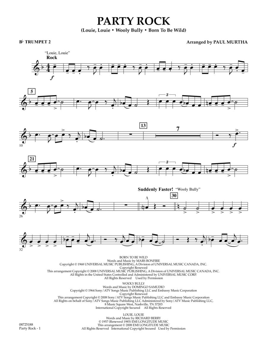 Party Rock - Bb Trumpet 2