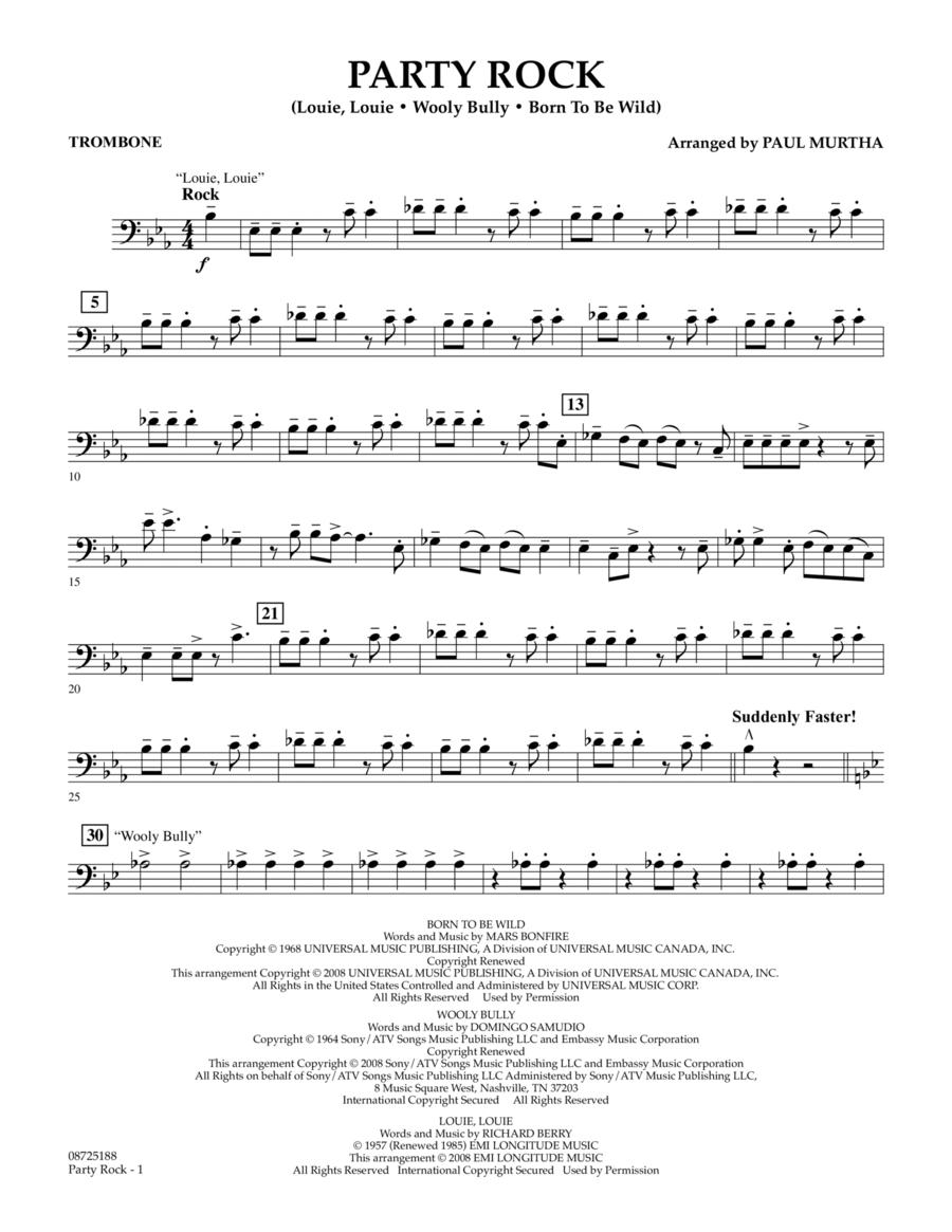 Party Rock - Trombone