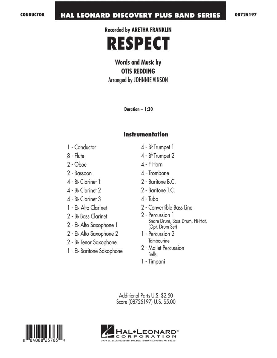 Respect - Full Score
