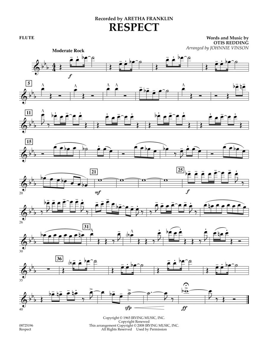 Respect - Flute