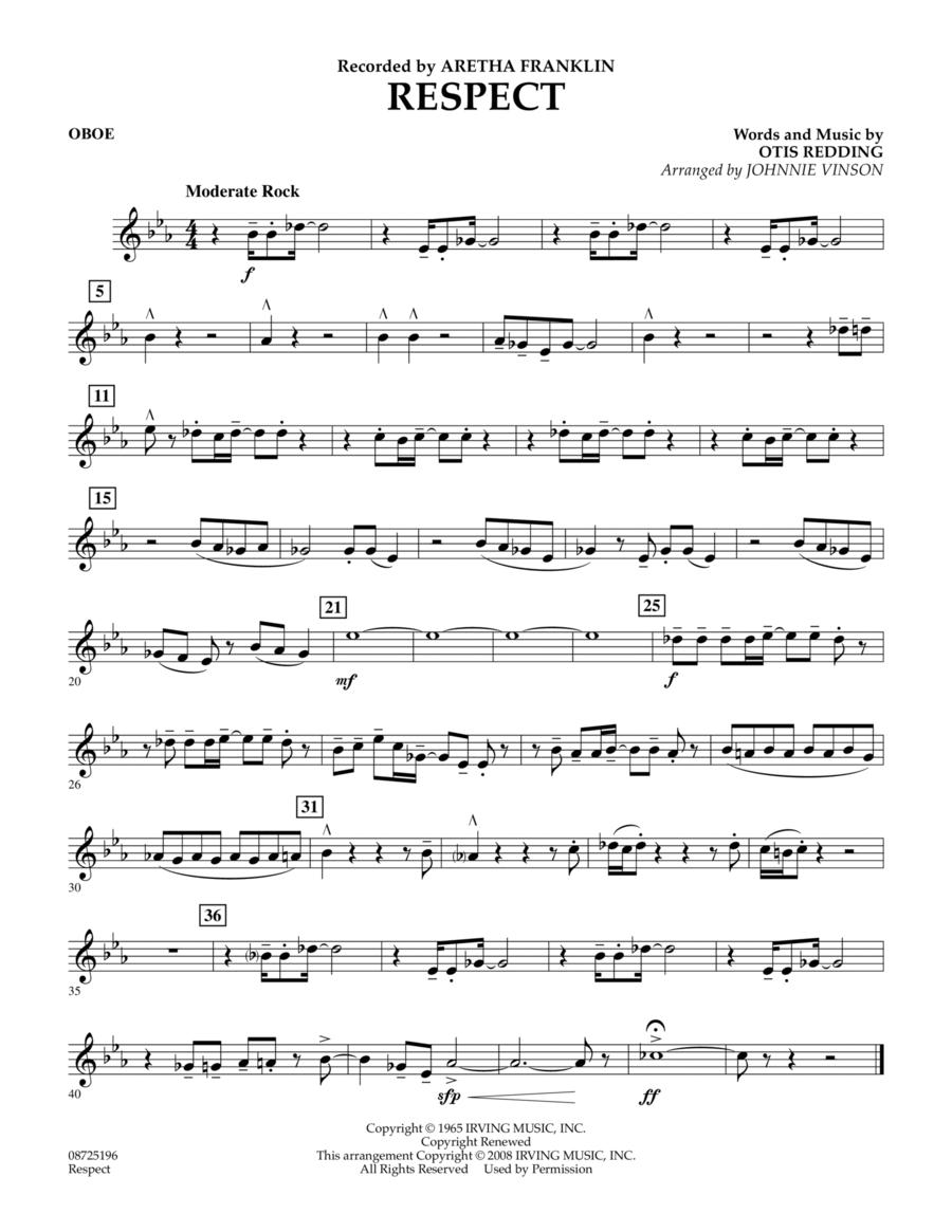 Respect - Oboe
