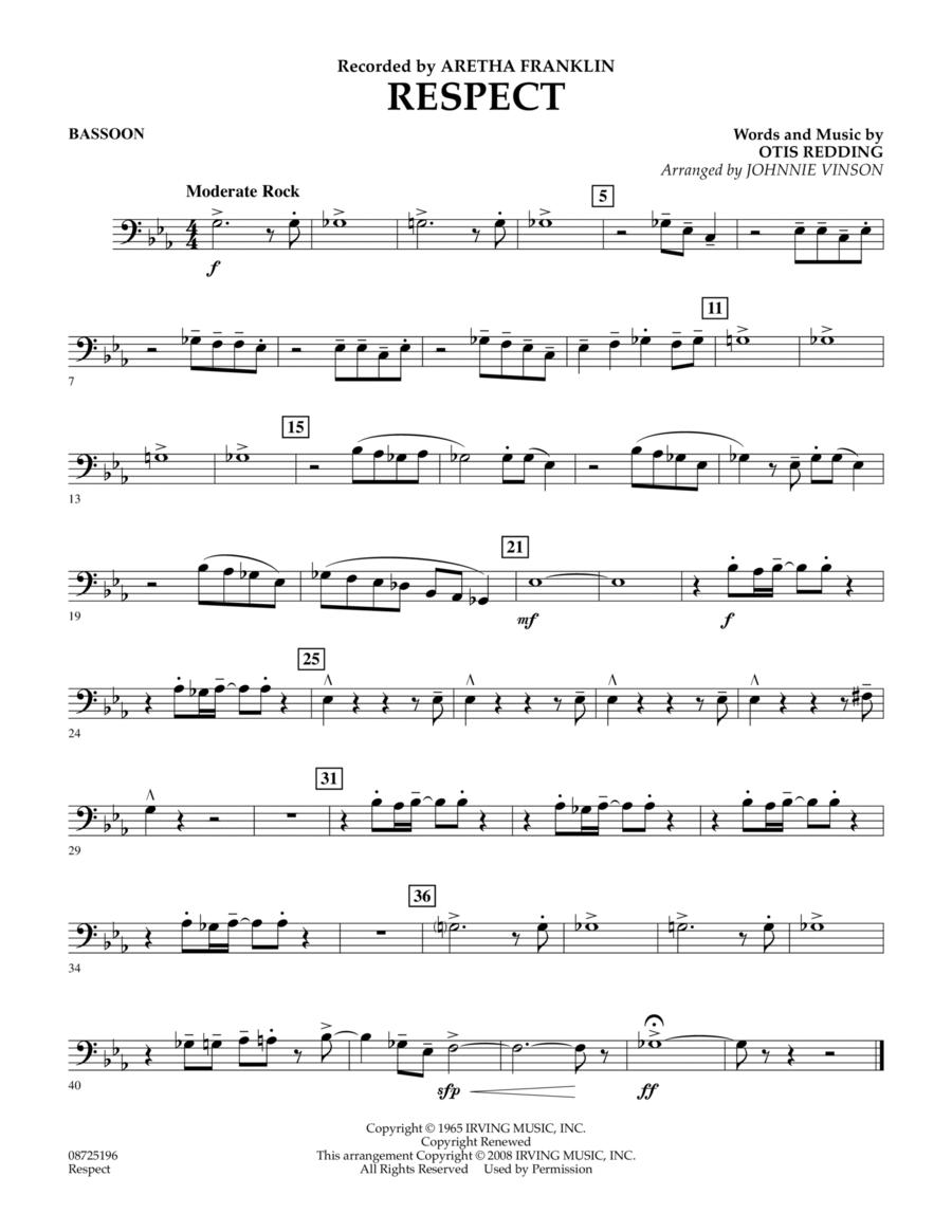 Respect - Bassoon
