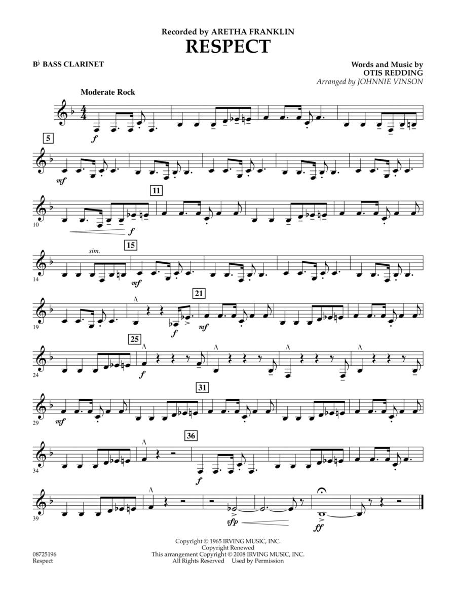 Respect - Bb Bass Clarinet