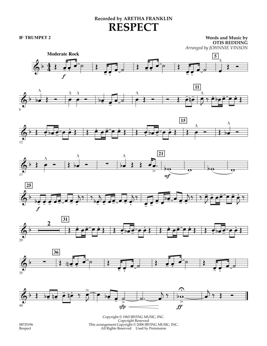 Respect - Bb Trumpet 2