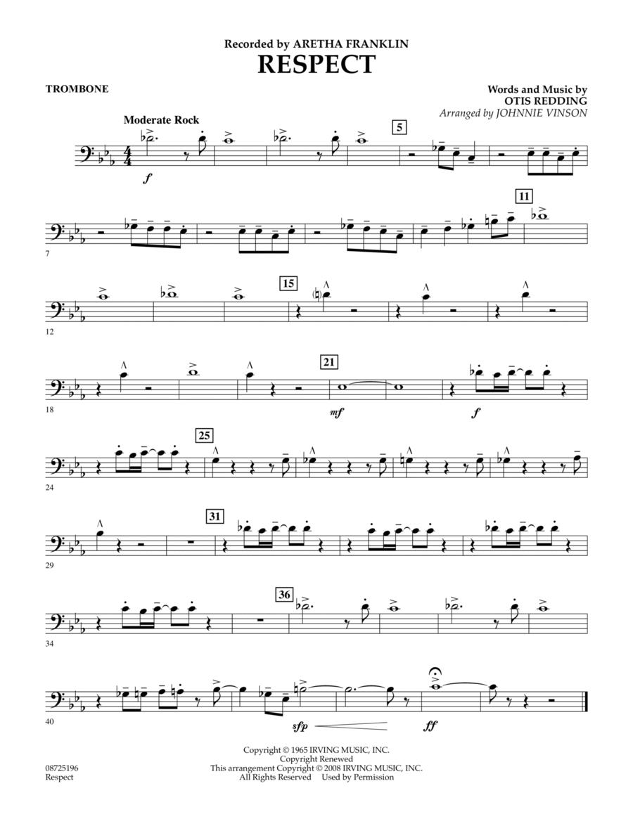 Respect - Trombone