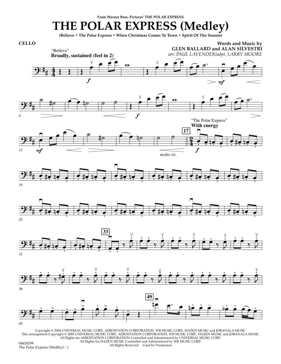 The Polar Express (Medley) - Cello